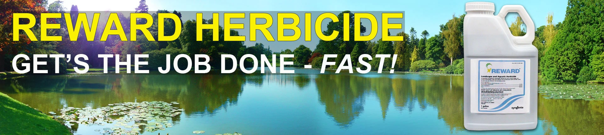 Reward Herbicide - Aquatic Weed and Algae Control with 37% Diquat